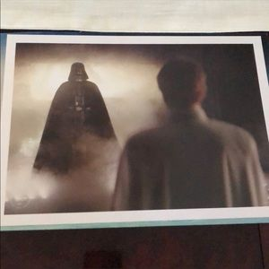 Disney Star Wars Commemorative Lithographs!